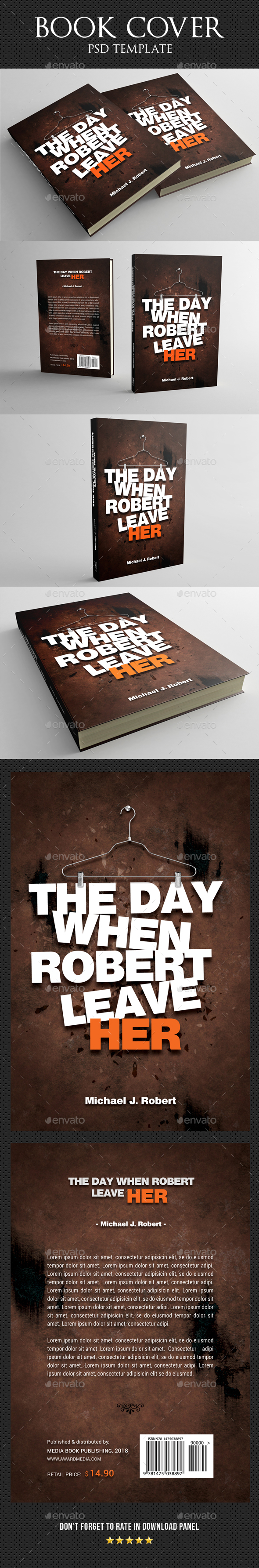 Book Cover Template 40 - Miscellaneous Print Templates