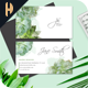 Succulent Watercolor Business Card 02