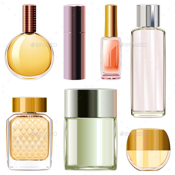 Vector Perfume Bottles - Miscellaneous Vectors