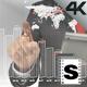 Futuristic Data Screen - VideoHive Item for Sale