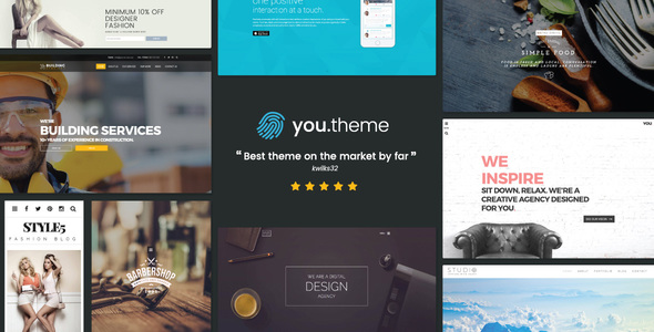 You | Multi-Purpose Responsive WordPress Theme - Business Corporate