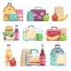 School Snack Bags - GraphicRiver Item for Sale
