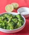 Bowl of cooked broccoli with seasonings - PhotoDune Item for Sale