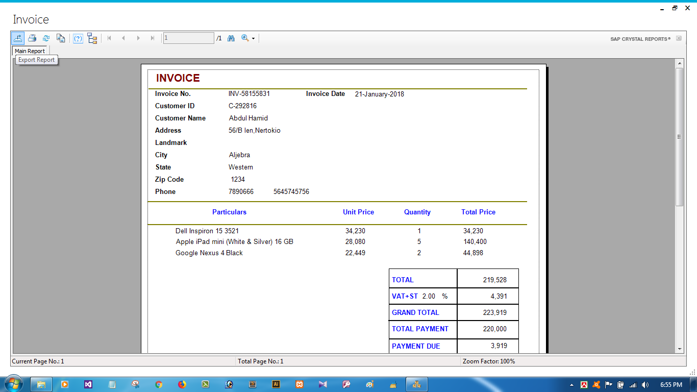 Sales And Inventory Management System | POS System with Full Source Code
