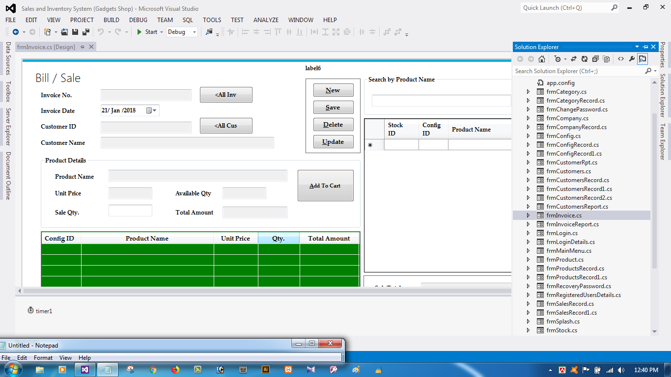 Sales And Inventory Management System | POS System with Full