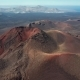 Flying Over Volcanoes Near Timanfaya National Park, Lanzarote, Canary Islands - VideoHive Item for Sale