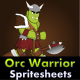 Two Orcs Warrior Game Sprite - GraphicRiver Item for Sale