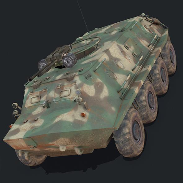 BTR 60 - 3DOcean Item for Sale