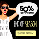 Fashion Banner Ads Vol.7 - GraphicRiver Item for Sale