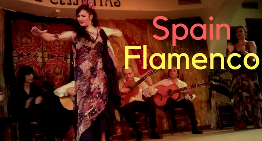 Spanish Flamenco Guitar - Spain Flamenco - Flamenco Clapping