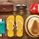 Travel and beach flat lay - PhotoDune Item for Sale