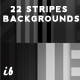 Dark Stripes Backgrounds - GraphicRiver Item for Sale