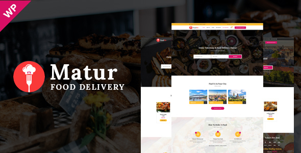Image of Matur - Food Delivery & Ordering WordPress Theme