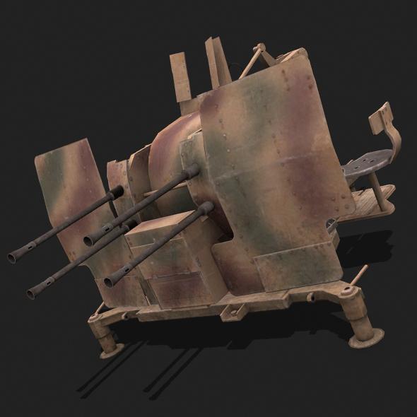 Flak 38 - 3DOcean Item for Sale