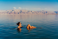 Girl is relaxing and swimming in the water - PhotoDune Item for Sale