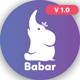 Babar - Multipurpose Responsive App / One page Template - ThemeForest Item for Sale