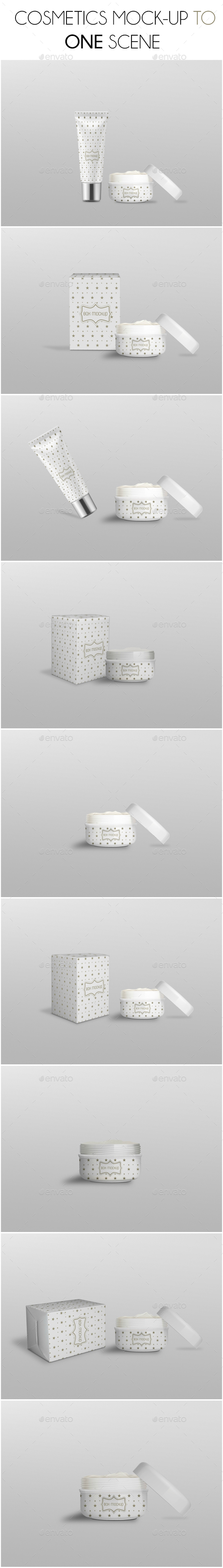 Cosmetic Mockup - Beauty Packaging