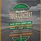 Tour Concert Flyer / Poster