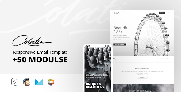 colatin - responsive email + stampready builder (email templates) Colatin – Responsive Email + StampReady Builder (Email Templates) 590