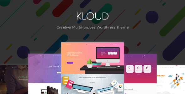 Kloud - Creative Multipurpose WordPress Theme - Creative WordPress