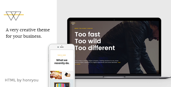 Image of Wrap - Onepage HTML template