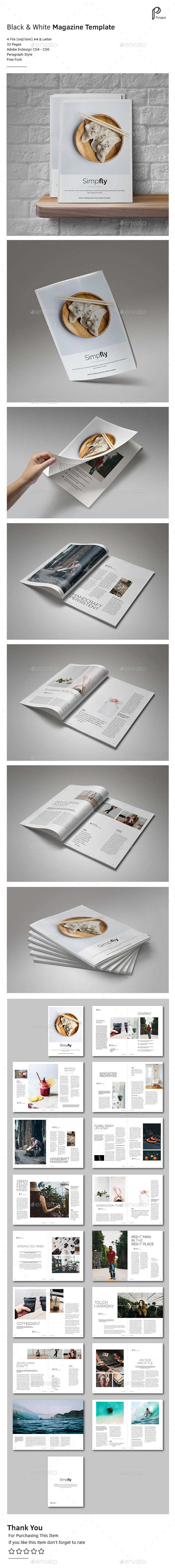 Clean & Simple Magazine Vol.6 - Magazines Print Templates