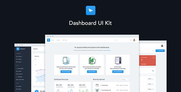 Dashboard UI Kit | Admin Dashboard Template & UI Framework - Admin Templates Site Templates