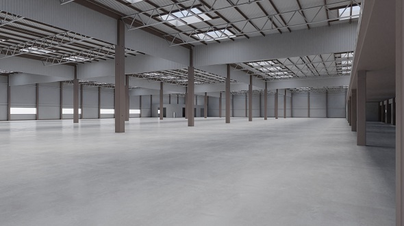 Factory Hall Interior 7 - 3DOcean Item for Sale