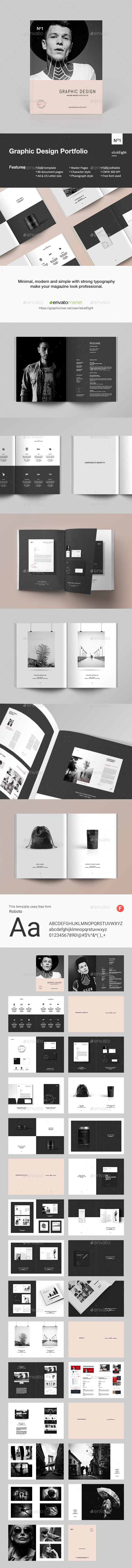Graphic Design Portfolio - Portfolio Brochures