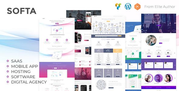 Softa | SaaS, App, Software & WebApp WordPress Theme