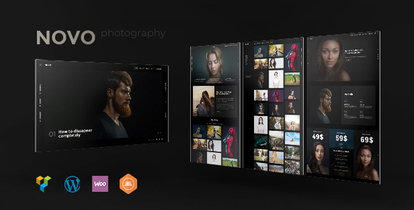 Photography | Novo Photography WordPress for Photography - Photography Creative