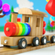 Funny Cartoon Toy Train - VideoHive Item for Sale