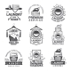 Labels or Logos for Laundry Service - GraphicRiver Item for Sale