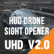 HUD Drone Sight Opener - VideoHive Item for Sale
