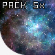Pack 5 Realistic Galaxies - VideoHive Item for Sale