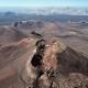 Flying Over Volcanoes Near Timanfaya National Park - VideoHive Item for Sale
