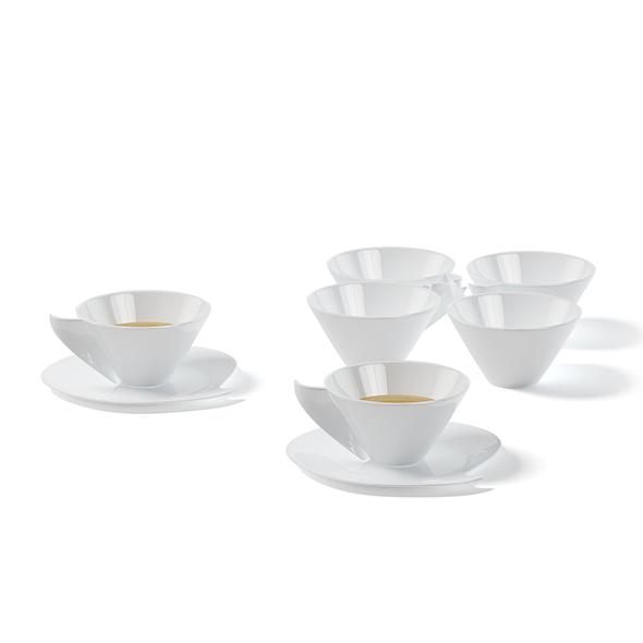 Tea Set 3D Model - 3DOcean Item for Sale