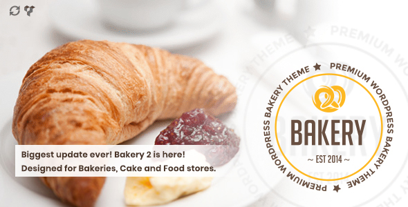 Bakery | WordPress Bakery, Cakery & Food Theme