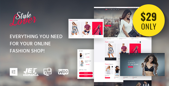 SolosShopy - Fashion Shop Elementor WooCommerce Theme
