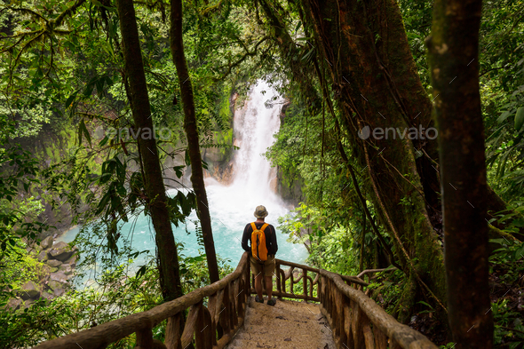 Hike in Costa Rica - Stock Photo - Images