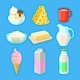 Dairy Products Set - GraphicRiver Item for Sale
