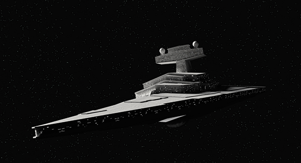 Star Wars - Star Destroyer - 3DOcean Item for Sale