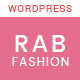 RAB - Fashion eCommerce WordPress Theme