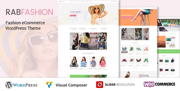 Image of RAB - Fashion eCommerce WordPress Theme