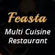 Feasta - Multi Cuisine Restaurant PSD Template - ThemeForest Item for Sale