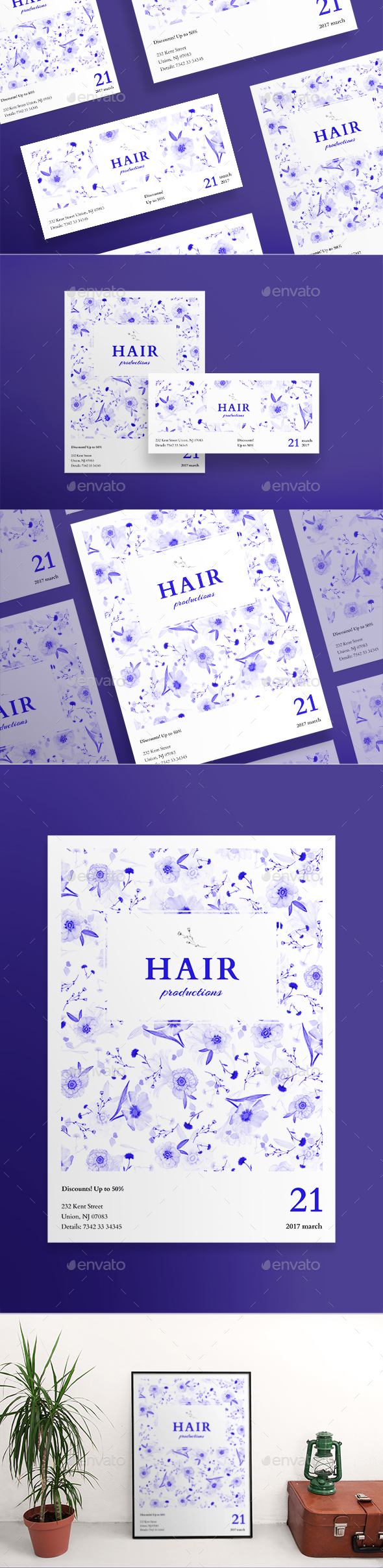 Hair Productions Flyers - Miscellaneous Events