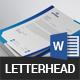 Clean Letterhead