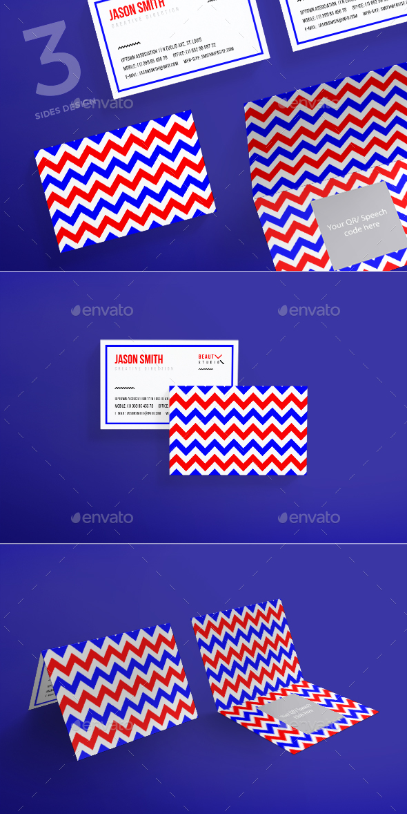 Beauty Studio Business Card - Business Cards Print Templates