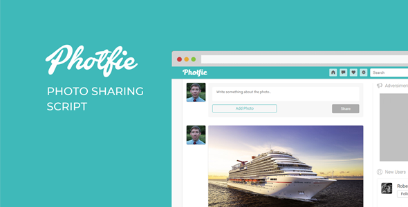 Photfie - A Photo Sharing Script Free Download | Nulled
