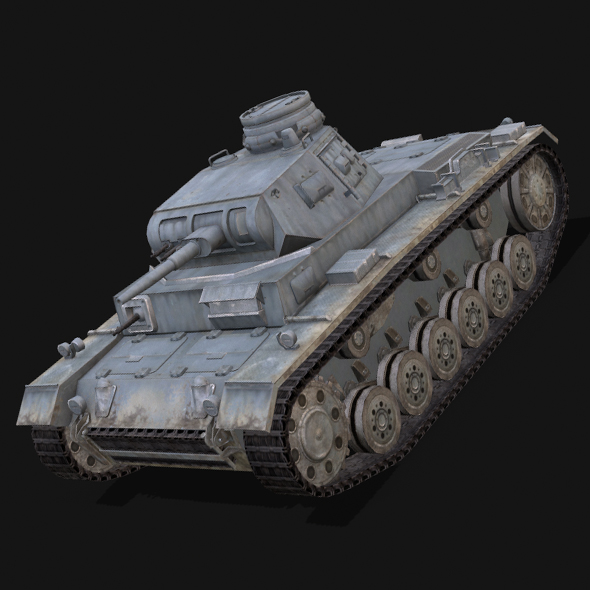 Panzer 3 - 3DOcean Item for Sale